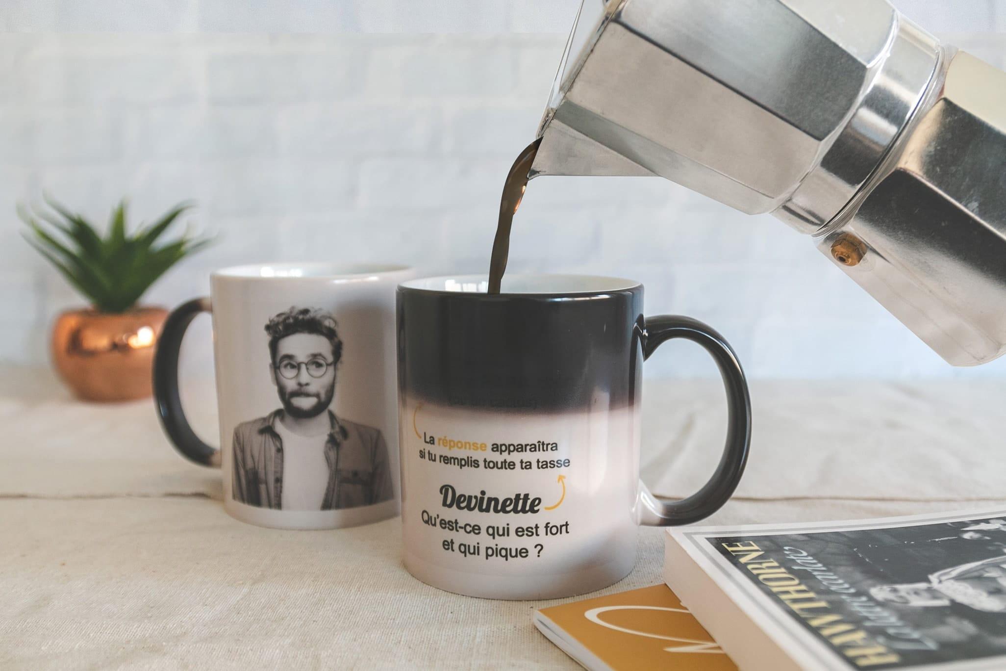 """Mug """"Magique"""" Devinette - B.Boukagne / Photoweb"""